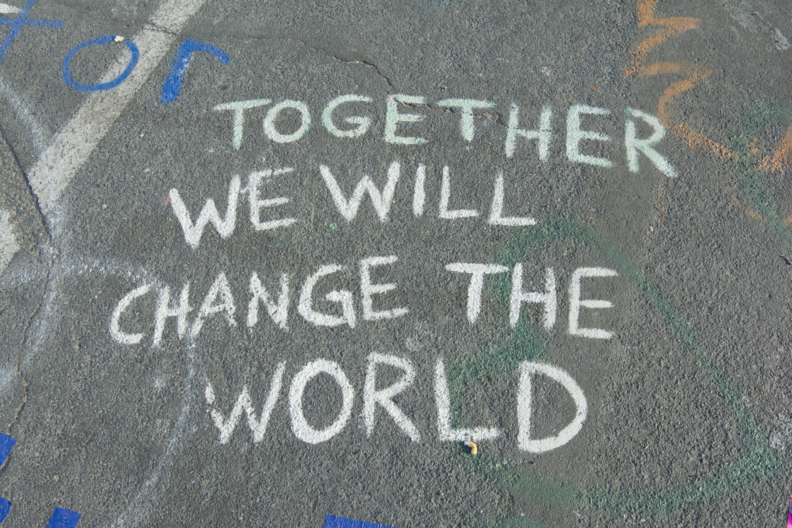 Be A Part Of The Change